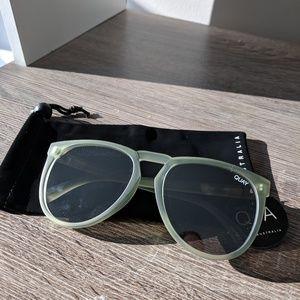 NWT Quay - Olive PhD 65mm Sunglasses